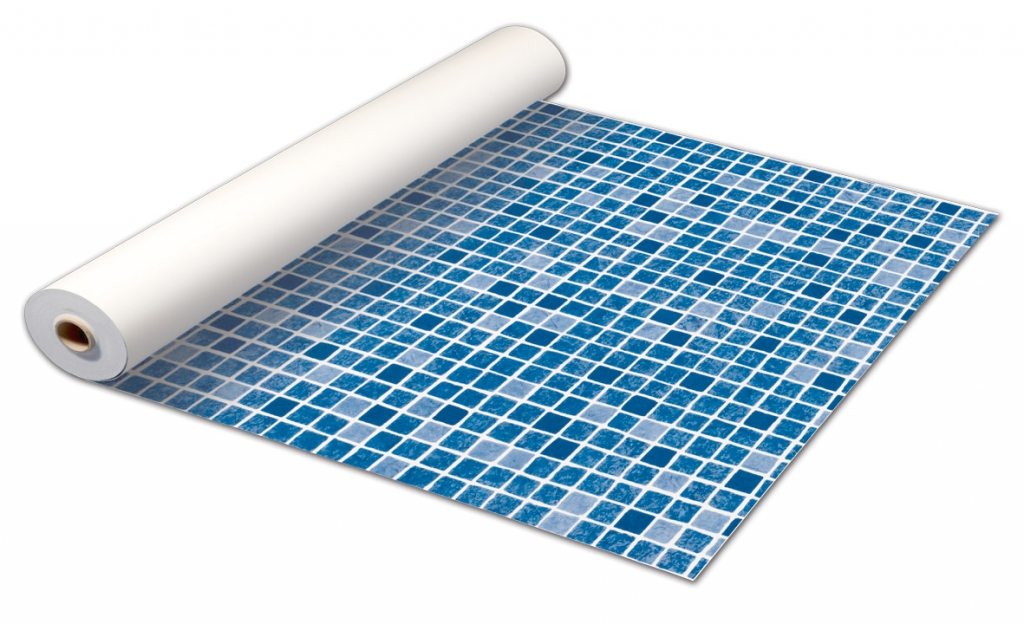 Pvc reinforced liner astralpool for Construir piscina economica